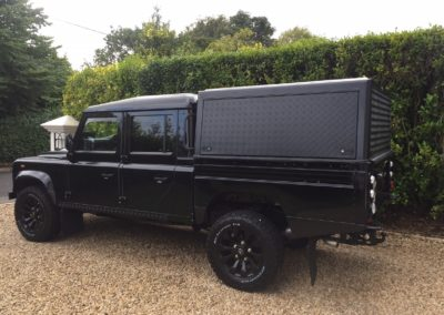 A Customer's Land Rover Defender 130 Double Cab