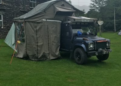 A Customer's Land Rover Defender, Lake District 2017, With APB Accessories.