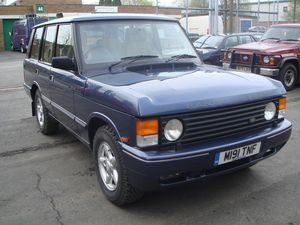 Late Classic Range Rover complete with Brooklands kit refurbished by APB